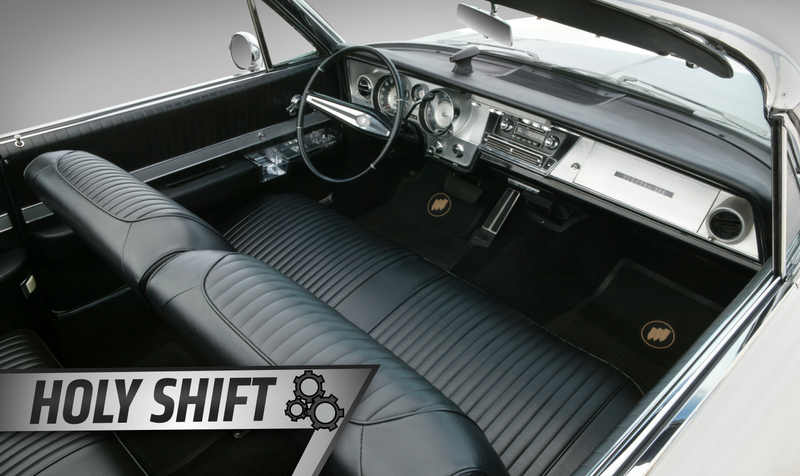 car with bench seat
