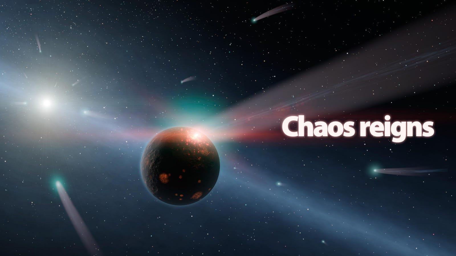 NASA Image Shows the Mayhem That Created Life on Earth