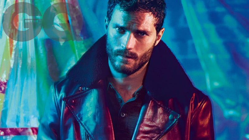 Illustration for article titled Jamie Dornan Tied His Dick Up Like a 'Bag of Grapes' forFifty Shades