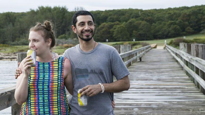Lena Dunham and Riz Ahmed (Photo: HBO)