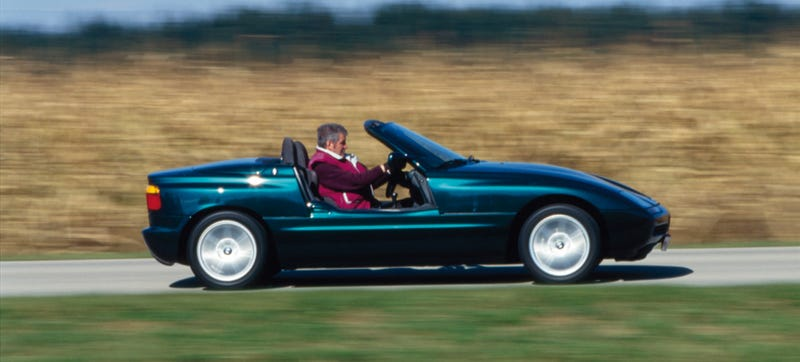Illustration for article titled The BMW Z1 Is A Beautiful Work Of Art That's Underwhelming To Drive
