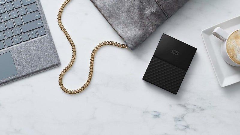 WD My Passport 1TB Portable Hard Drive | $40 | Amazon