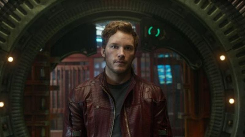 Illustration for article titled Chris Pratt unleashes another charm assault, this time in fake spaceship