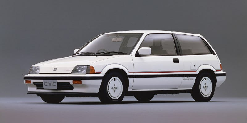 I can't help myself. I love the third-generation Honda Civic, particularly all of its extremely '80s