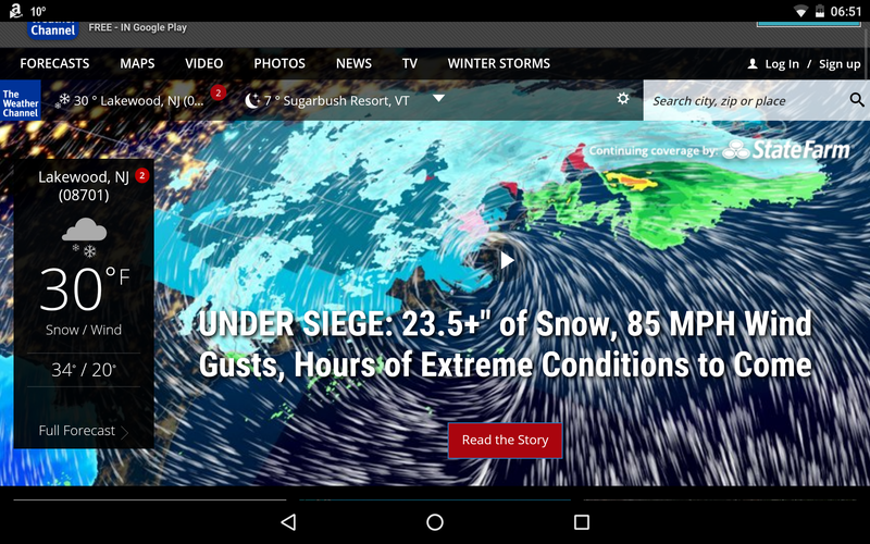 Illustration for article titled This weather.com headline...