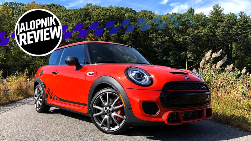 The 2019 Mini Jcw International Orange Edition Is A Fast Pumpkin