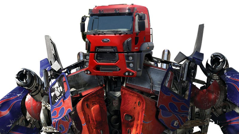 Illustration for article titled Ford's New 18-Wheeler Reminds Everyone Of A Transformer And Will Never Come To The US