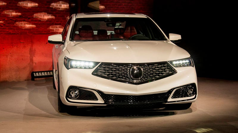 Illustration for article titled Someone I Went Karting With Said That Acura's New Grille Reminded Them Of Goatse.