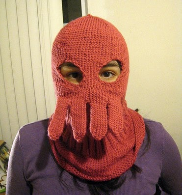 Illustration for article titled Dr. Zoidberg Ski Mask Perfect For Decapodian Mating Season