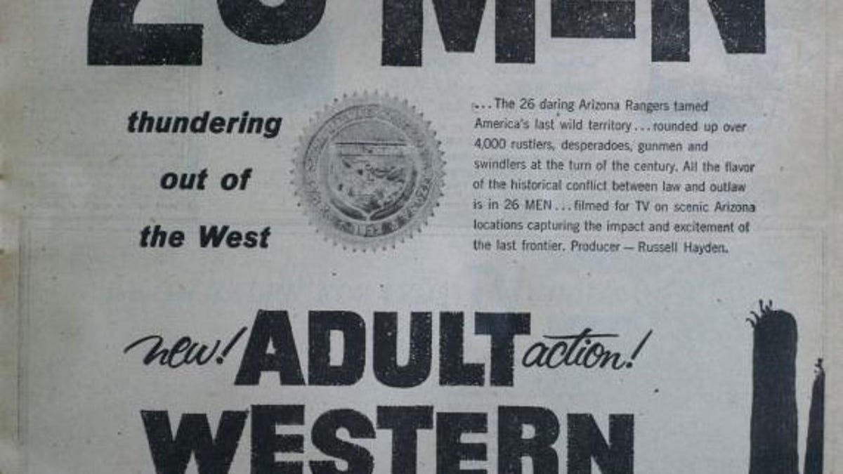 The adult Western peaked with Have Gun – Will Travel