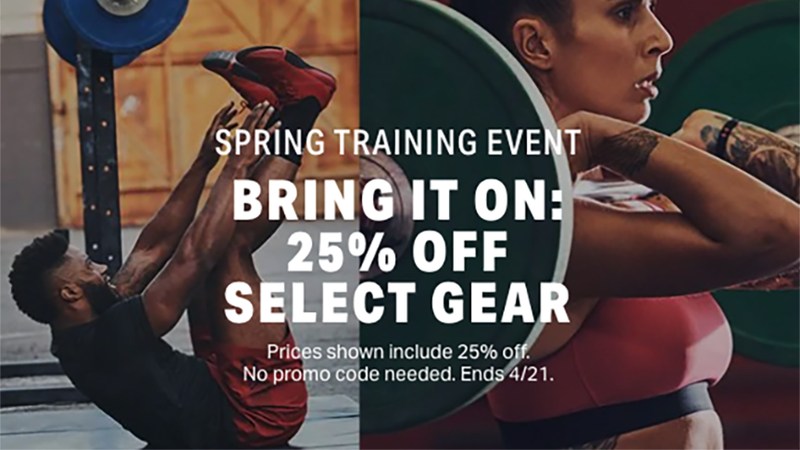 25% Off Select Gear | Under Armour