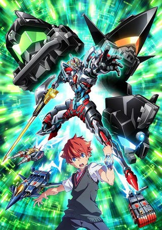 Illustration for article titled Here it is the new visual of the anime ofSSSS.Gridman