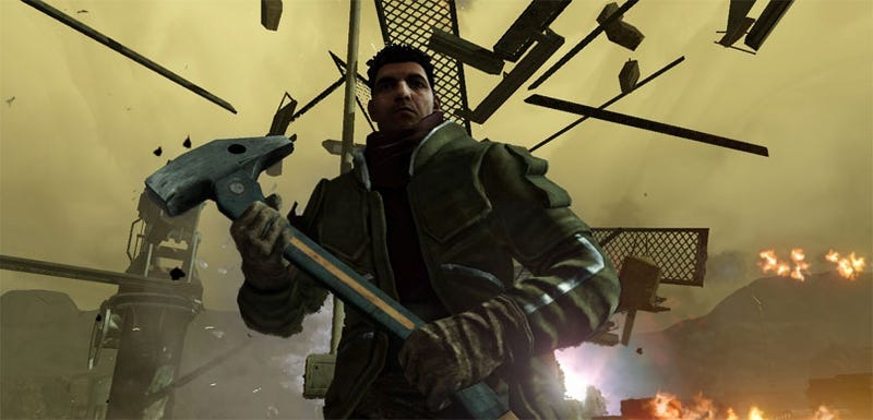Illustration for article titled Red Faction: Guerilla Destructs Itself A Release Date