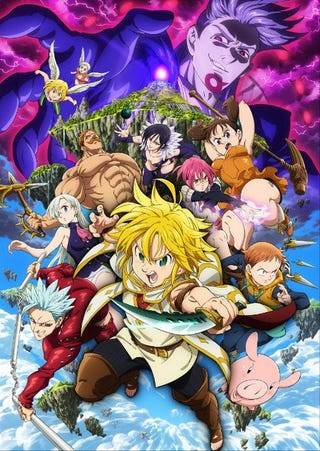 Illustration for article titled Here it is the new trailer for the movie ofSeven Deadly Sins: Prisoners of the Sky