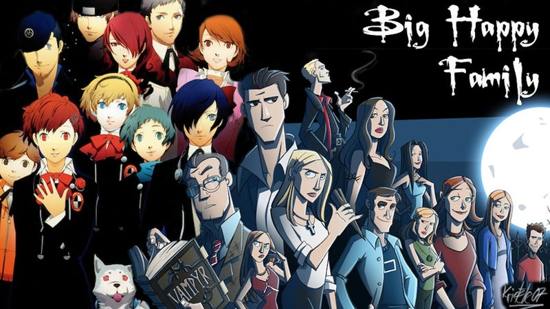 Illustration for article titled Persona 3 Really Is Buffy, Down To The Smallest Characters