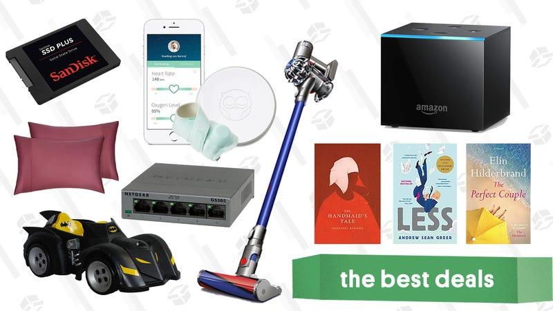 Illustration for article titled Sunday's Best Deals: Batmobile, SanDisk SSDs, Fire TVs, Kindle eBooks, and More
