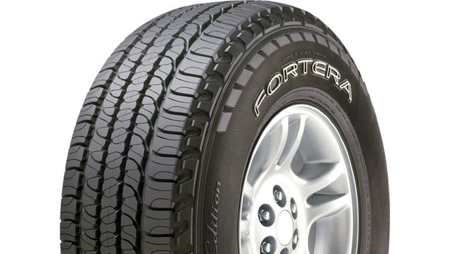 Goodyear Fortera HL tires suck on ice
