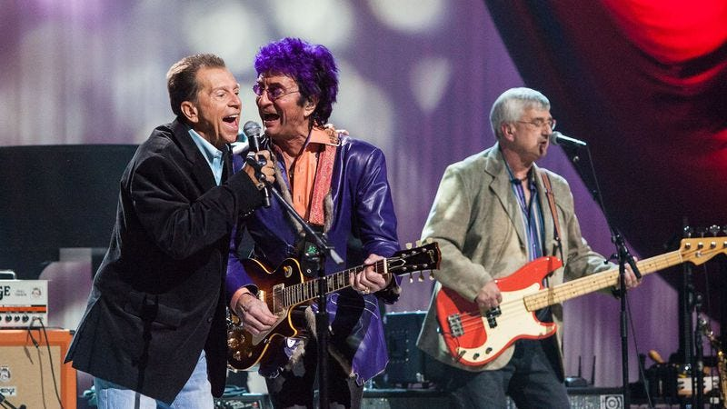 Gary Loizzo of The American Breed and Jim Peterik of The Ides Of March (Photo: PBS/Raney Images)