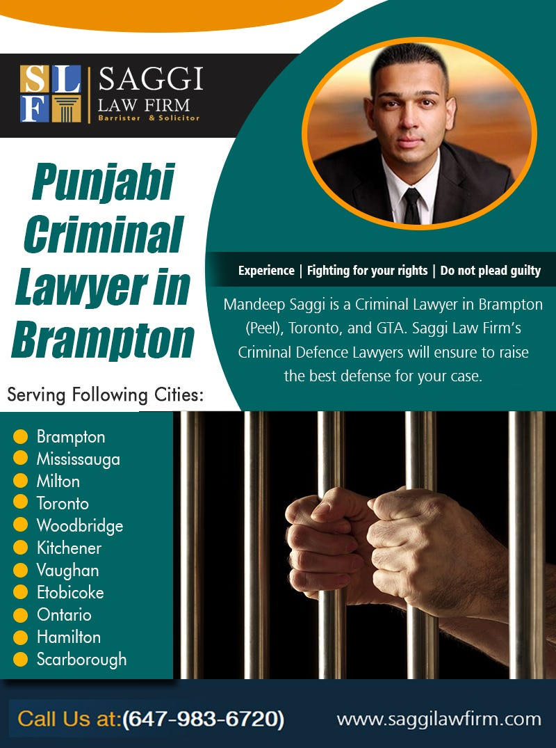 Illustration for article titled Punjabi Criminal Lawyer in brampton
