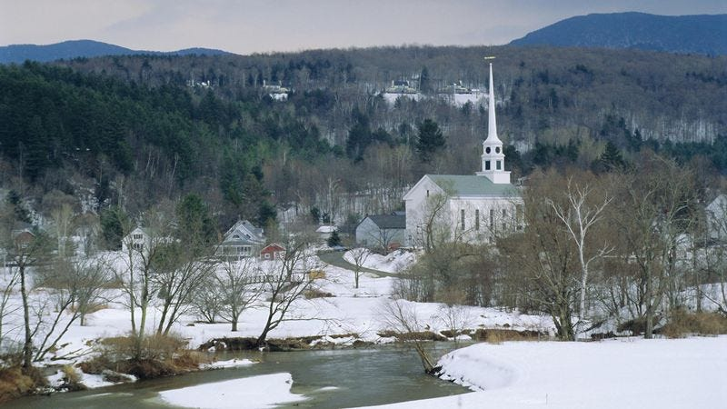 Illustration for article titled Guidebook Writer Stumbles Upon New England Town Too Quaint For Human Eyes