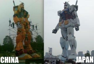 Illustration for article titled Orange You Glad China Has A Giant Mecha?