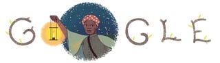 Illustration for article titled Google Doogle celebrates Harriet Tubman!