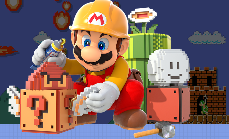 Illustration for article titled Mario Maker's Newest Impossible Level Has A Great Joke At The End