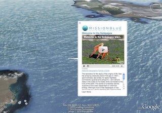 Illustration for article titled Google Earth Now Educates On Oceans