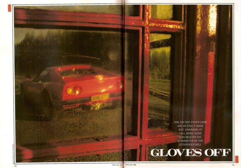 Illustration for article titled Ferrari 288 GTO Road Test