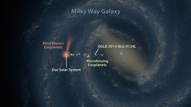 Illustration for article titled This Map Shows Just How Little We Know About Our Own Galaxy