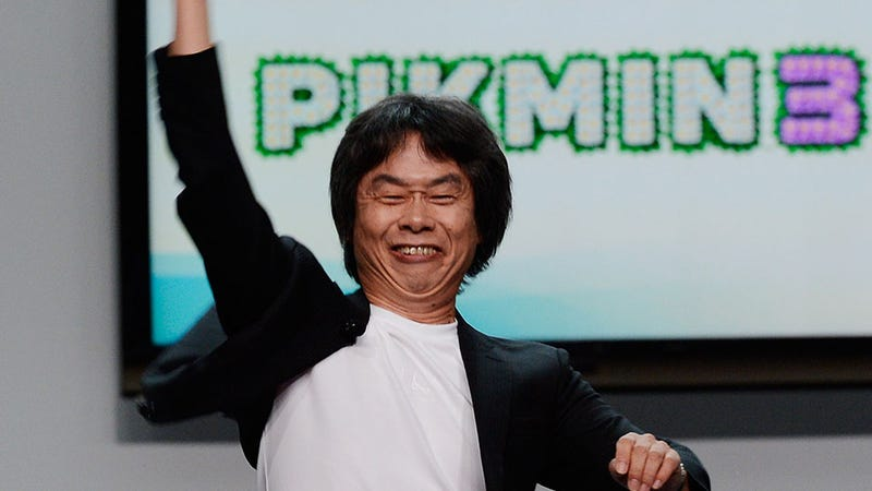 Illustration for article titled See Mario's Creator Act Like a Goofball On Stage at E3