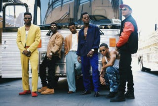 Scene from the New Edition biopic The New Edition StoryBET