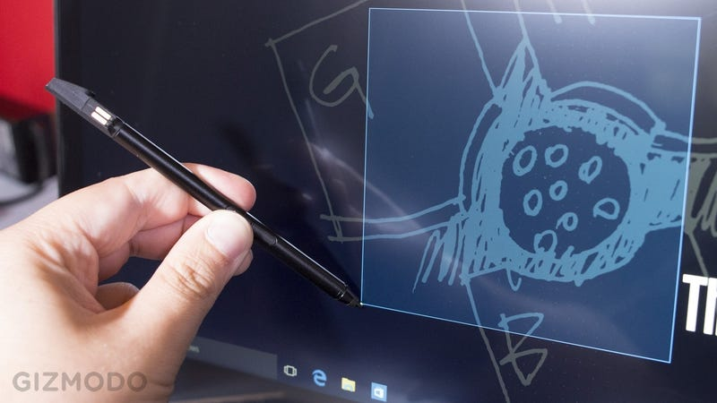 Illustration for article titled A Supercapacitor Stylus Is The Best Thing About Lenovo's New Laptops