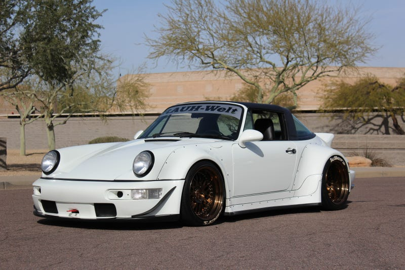 Illustration for article titled Here Is Your Chance To Buy A RWB 964 And Piss Off The Porsche Purists