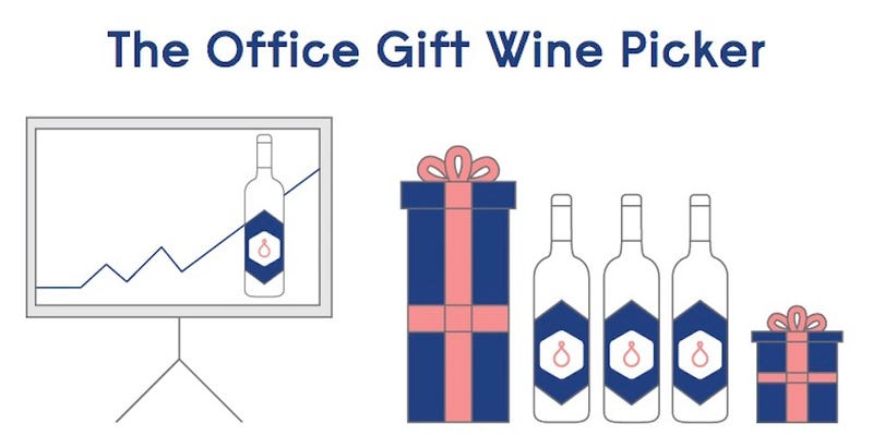 Illustration for article titled The Office Gift Wine Picker Chooses a Great Gift in Three Questions