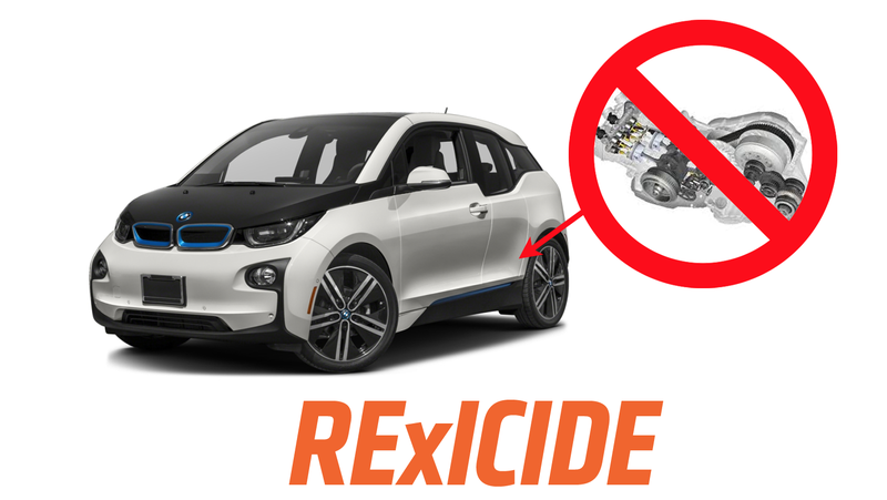 Illustration for article titled BMW Is Dropping the Range Extender Version of the BMW i3 (UPDATED: Only in Europe)