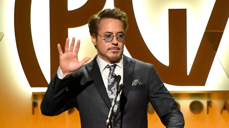 Illustration for article titled Robert Downey Jr. would rather dance than chat on the Endgame press tour