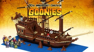 Illustration for article titled Keep one eye on The Goonies 30th anniversary build