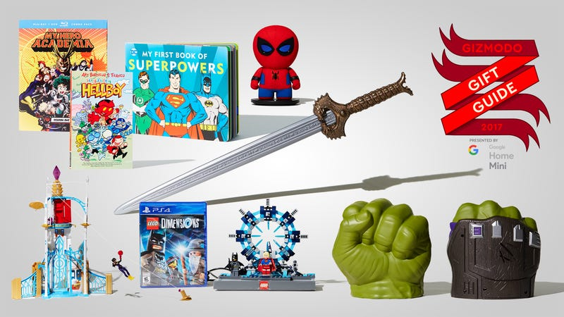 Toys That Start With B : Gifts for kids who are just starting to love superheroes