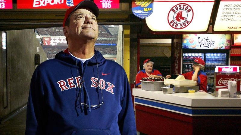 Illustration for article titled Man Watches 5 Innings Of Game On Concession Stand's TV Monitor