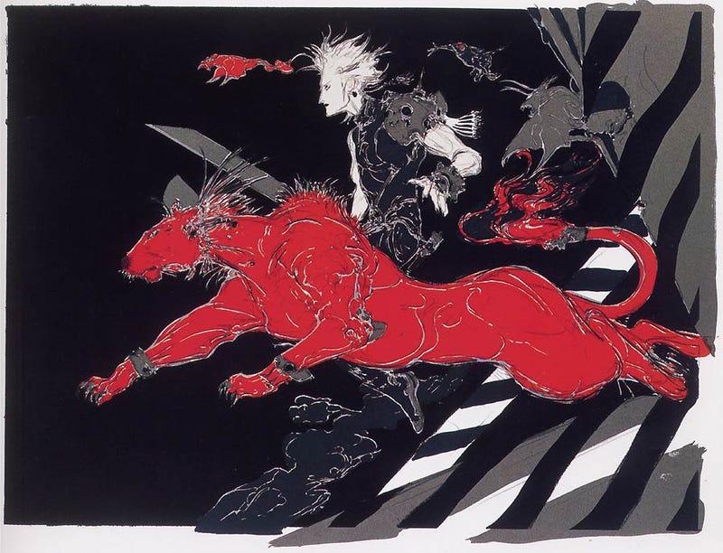 The Beautiful Final Fantasy Art Of Yoshitaka Amano