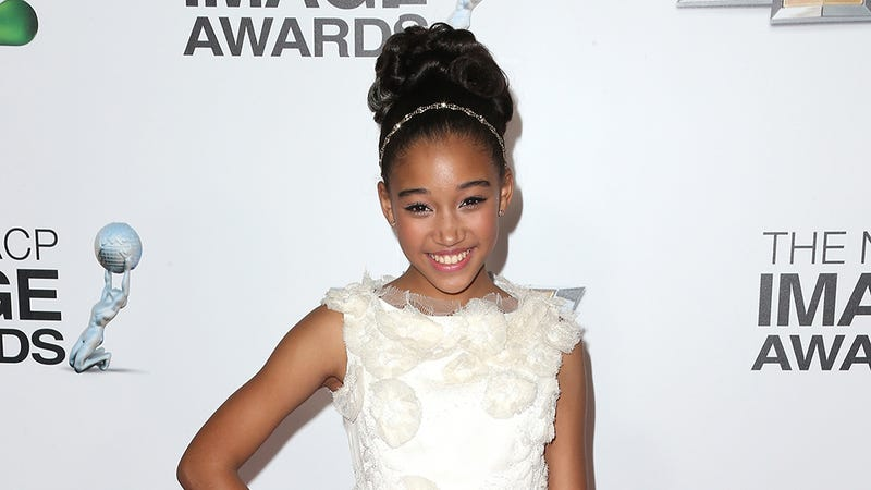 Illustration for article titled Amandla Stenberg -- Hunger Games' Rue! -- Joins Sleepy Hollow