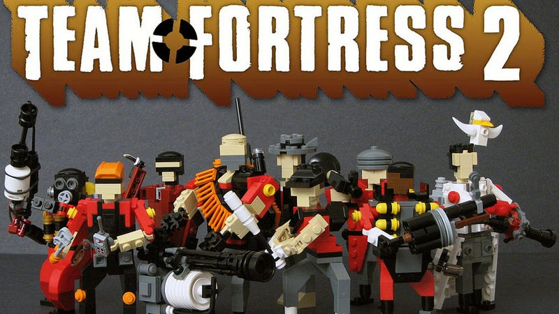 Illustration for article titled These TF2 LEGO Figures are so Small! They are Funny to me!