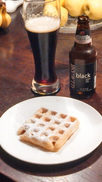 Illustration for article titled Waffles and beer! Waffles and beer!
