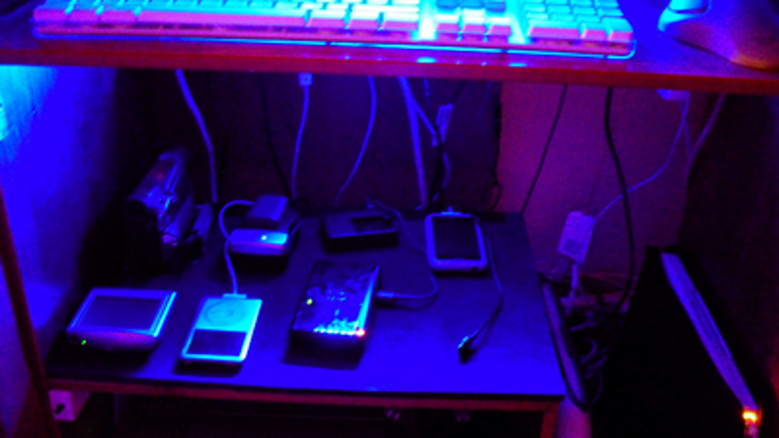 Spacious Charging Station With Automatic Lighting
