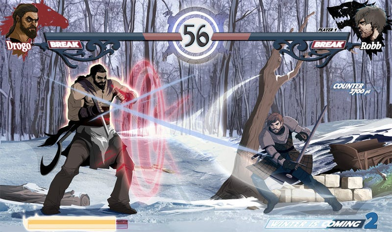 Illustration for article titled Can this Game of Thrones fighting game really exist, please?