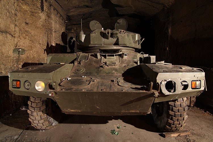 Secret Underground Bunker Is Full of World War Weapons and