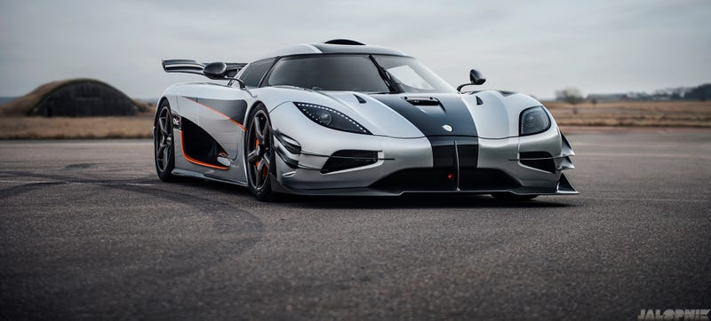 Illustration for article titled Koenigsegg's Famous One:1 Development Car Can Be Yours For Just $6 Million (Plus Taxes)