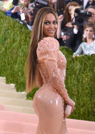 Beyoncé at the Costume Institute Benefit Gala at the Metropolitan Museum of Art in New York City on May 2, 2016Larry Busacca/Getty Images