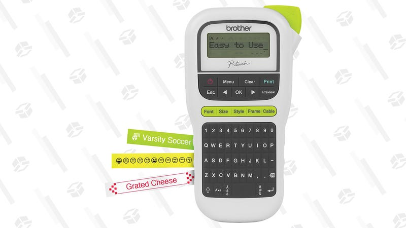 Brother P-touch, PTH110, Easy Portable Label Maker | $10 | Amazon